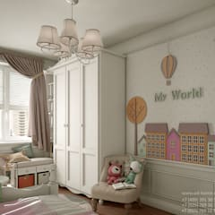Dormitorios infantiles de estilo  por Ad-home , Clásico