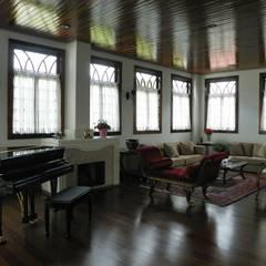 Sala de estar 2: Salas de estar  por BUZZI & SILVA ARQUITETOS ASSOCIADOS
