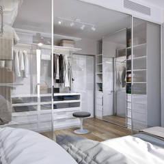 Dressing room by 1+1 studio