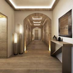 Corridor & hallway by Avogadri simone archi3d