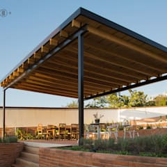 Jardín / Terraza: Jardines de estilo minimalista por Región 4 Arquitectura