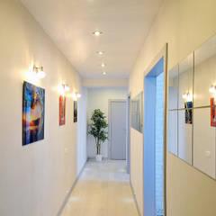 Corridor & hallway by Hunter design, Minimalist Natural Fibre Beige