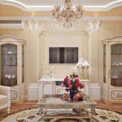 Wohnzimmer von Студия дизайна Interior Design IDEAS, Klassisch