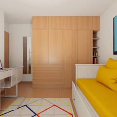 minimalistische Kinderkamer door José Tiago Rosa