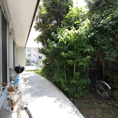 風が通り抜ける家 : アトリエグローカル一級建築士事務所が手掛けた庭です。
