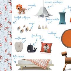 Arredi evolutivi per la camera dei bambini: Stanza dei bambini in stile  di amisuradibimbo