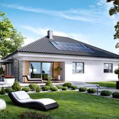 PROJEKT DOMU ASTRID (MAŁA) G2 : styl , w kategorii Domy zaprojektowany przez Pracownia Projektowa ARCHIPELAG
