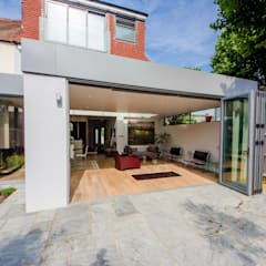 HOUSE EXTENSION & LOFT CONVERSION IN SW LONDON DPS ltd. Moderne serres