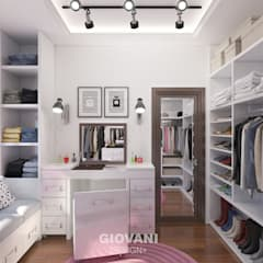 Dressing room by Giovani Design Studio