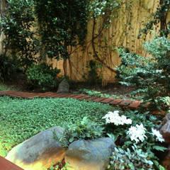 El mismo jardin 15 años despues....: Terrazas de estilo  de Daifuku Designs