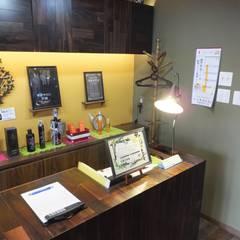 理髪店 La Fonte (ラフォンテ): design work 五感+が手掛けた商業空間です。