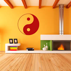 Wandtatoo Yin & Yang:  Wände von Der Lebensfreude Laden