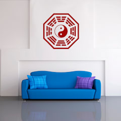 Wandtatoo Bagua Yin Yang:  Wände von Der Lebensfreude Laden