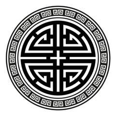 Wandtatoo Four Blessings (4 Segnungen - 4 Blessings):  Wände von Der Lebensfreude Laden
