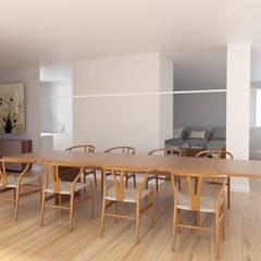 ESTUDIO BAO ARQUITECTURA:  tarz Yemek Odası