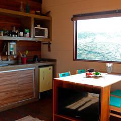 مطبخ تنفيذ Cabana Arquitetos