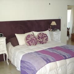 Dormitorio principal: Dormitorios de estilo rústico por Fainzilber Arqts.