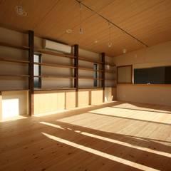 Projekty,  Jadalnia zaprojektowane przez 遠藤知世吉・建築設計工房