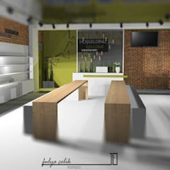cyprus interiors – Müze mağaza:  tarz Ofisler ve Mağazalar