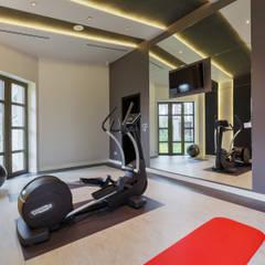 Тренажерные комнаты в . Автор – U-Style design studio