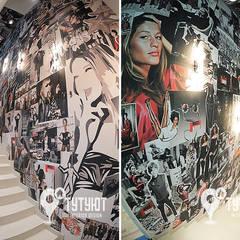 Магазин мультибрендовой одежды MUST HAVE: Офисы и магазины в . Автор – Interior Design Studio Tut Yut,