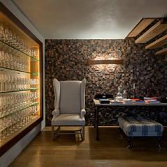 PATRICIA SALLES: kırsal tarz tarz Şarap Mahzeni