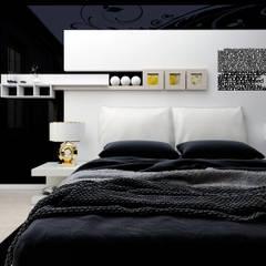 Abb Design Studio – E&C Ailesi - Yatak Odası:  tarz Yatak Odası