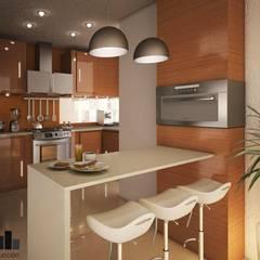 آشپزخانه توسطGarDu Arquitectos , مدرن