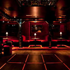 Dancefloor:  Bars & clubs by Rebecca James Studio