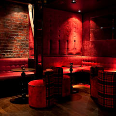 Basement mightclub:  Bars & clubs by Rebecca James Studio
