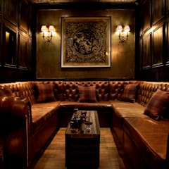 VIP room:  Bars & clubs by Rebecca James Studio