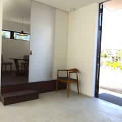 プライベートルーム.: 宮城雅子建築設計事務所 miyagi masako architect design office , kodomocafe が手掛けたレストランです。