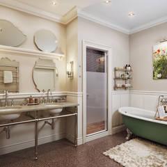 Квартира в ЖК ФилиЧета: Ванные комнаты в . Автор – MARION STUDIO