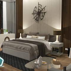 3D Casa Design:  tarz Yatak Odası,