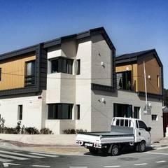 장현재 (蔣峴齋, Jang hyun Jae): GN건축사사무소의  주택,미니멀