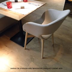 ​PARQUET CHENE ADD: Restaurants de style  par ADD