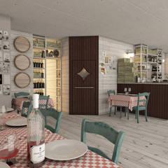Restaurantes de estilo  por Progetto & Render