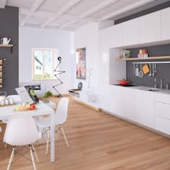 scandinavian Kitchen by Jonathan Sabbadini