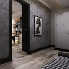 Ceren Torun Yiğit  – Stüdyo Daire Tasarımı:  tarz Koridor ve Hol, Minimalist