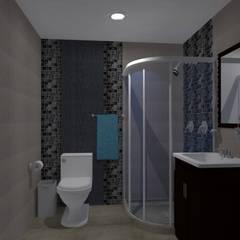 Diseños G2 : Baños de estilo  por DISEÑOS G2