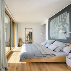 Schlafzimmer Haus am See:  Schlafzimmer von Bau-Fritz GmbH & Co. KG