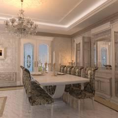 Salle à manger de style  par Студия Маликова, Classique