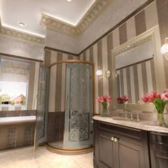 Salle de bains de style  par Студия Маликова, Classique Céramique