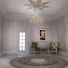 Couloir et hall d'entrée de style  par Студия Маликова, Classique