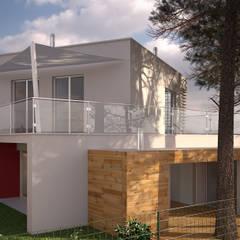 Moradia MC: Casas  por Miguel Ferreira Arquitectos,Moderno