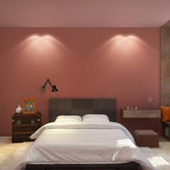 غرفة نوم تنفيذ BIARTI - создаем минималистский дизайн интерьеров