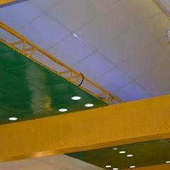 HPCL Ceiling and Panelling:  Conference Centres by RTA SOLUTIONS LLP (Mumbai & Pune)