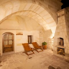 Kayakapi Premium Caves - Cappadocia – Kuşçular Konağı Öncesi Ve Sonrası:  tarz Teras