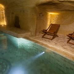 Kayakapi Premium Caves - Cappadocia – Muhittin Toker evi Öncesi ve Sonrası:  tarz Havuz