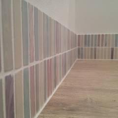K Residence/renovation: kinfolk design works          が手掛けた壁です。,